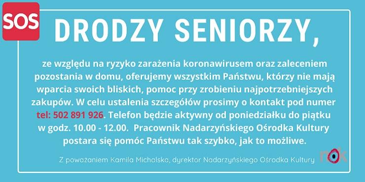 Pomoc dla seniora.