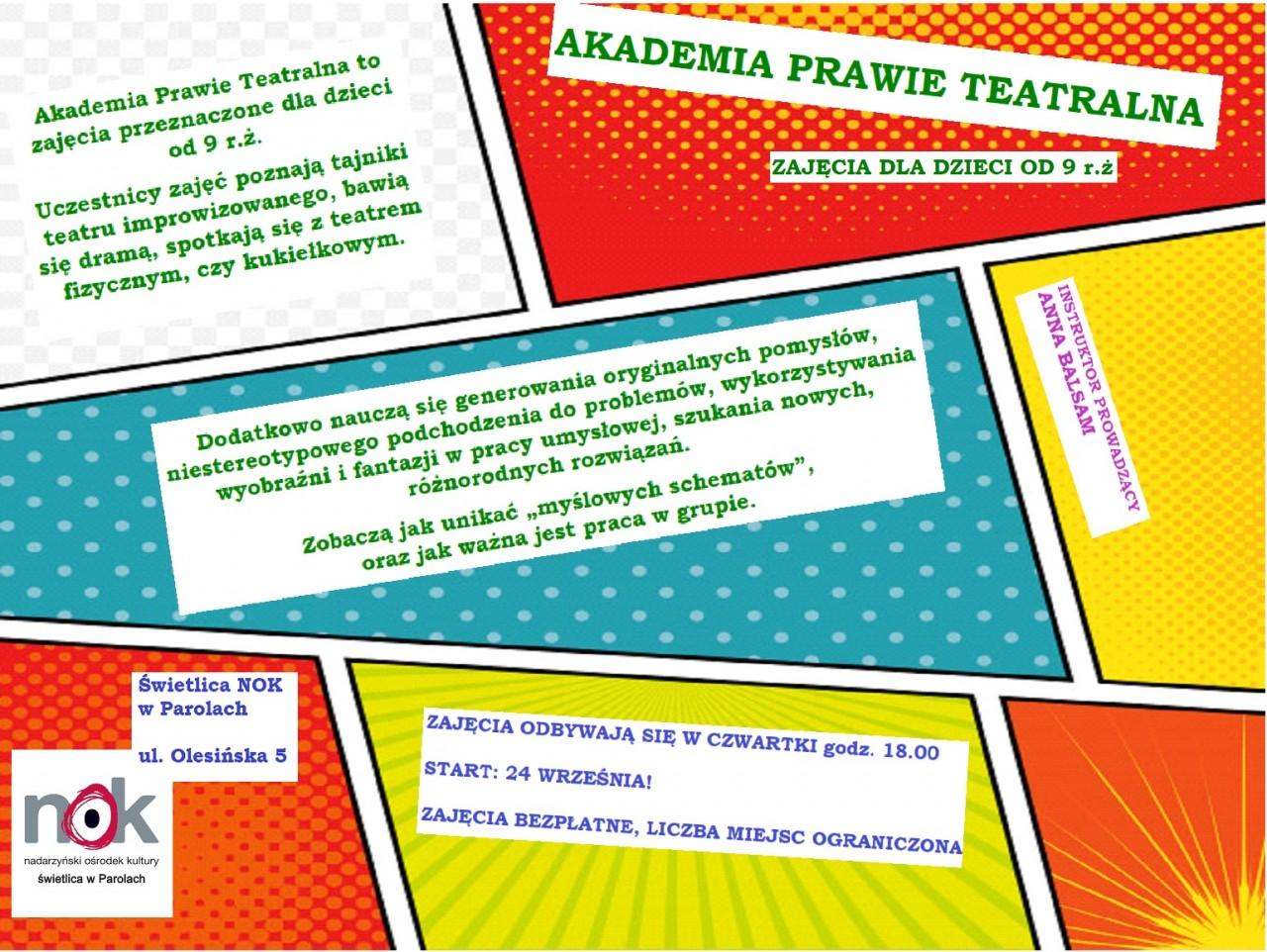 Akademia Prawie Teatralna w Parolach