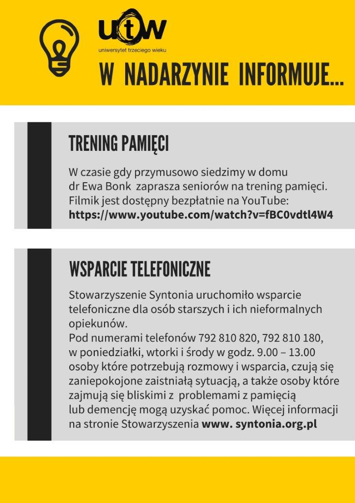 UTW - informacja
